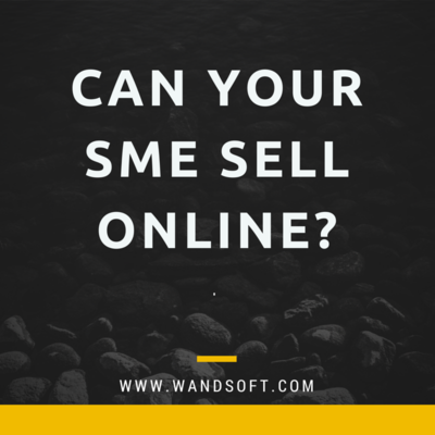 Can your SME sell online?